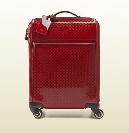 c1b1d9eb39c1 Gucci - four wheel carry-on suitcase 293909AV12G6227 - Yes please ...