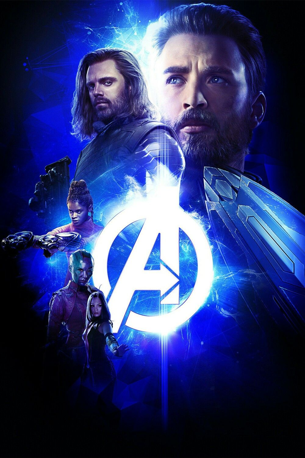 Avengers Infinity War Textless Movie Poster Textless Movie Posters Artwork Scififantasy Movie Posters Hor Marvel Studios Avengers Infinity War New Avengers