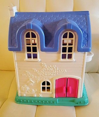 Fisher Price Doll House Little People 1996 Fisher Price Doll House Doll House Little People