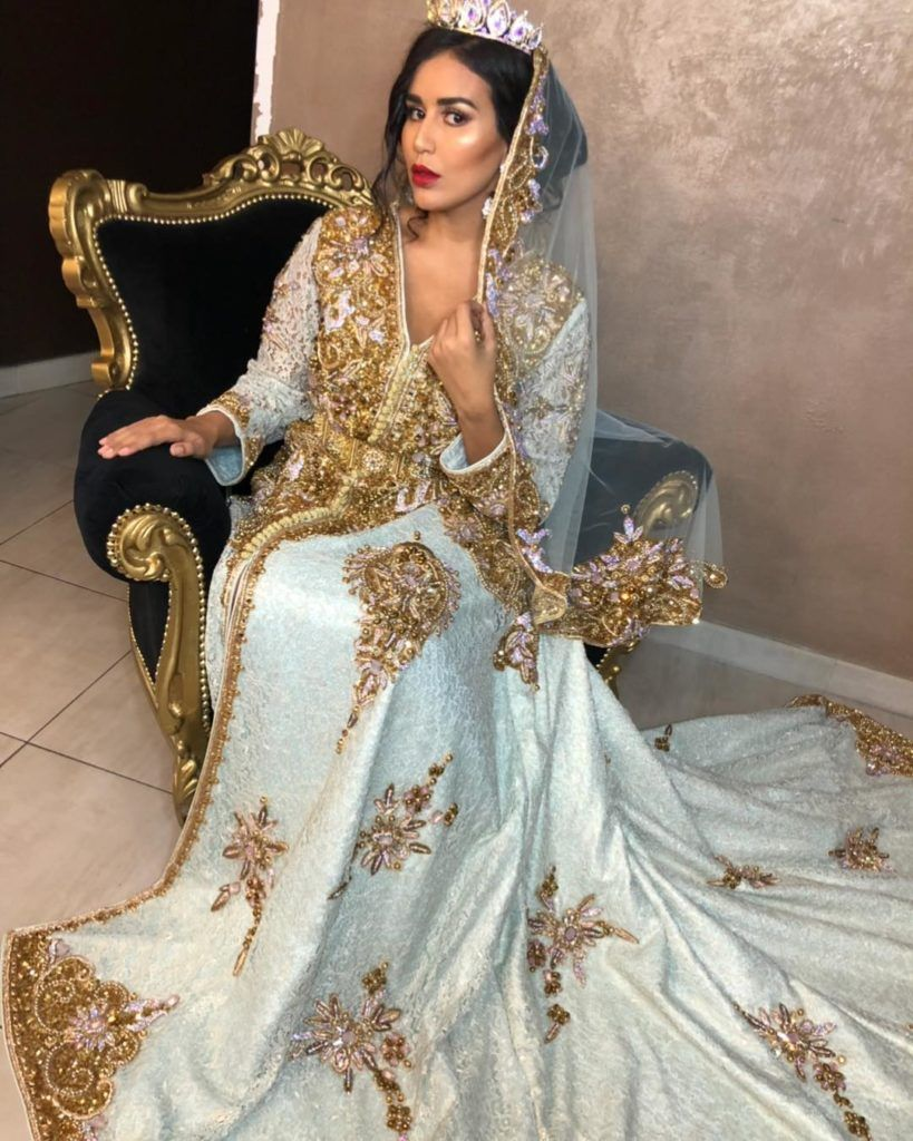 robe marocaine de mariage en 2020 | Robe
