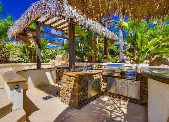Design Ideas To Steal From 48 Amazing Outdoor Kitchens Patio Decks Extraordinary Tropical Outdoor Kitchen Designs