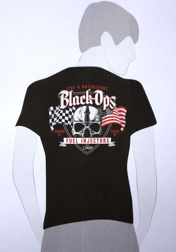 Fiveo BLACK OPS T-SHIRT, Hanes Heavy-Weight 100% Cotton - $20