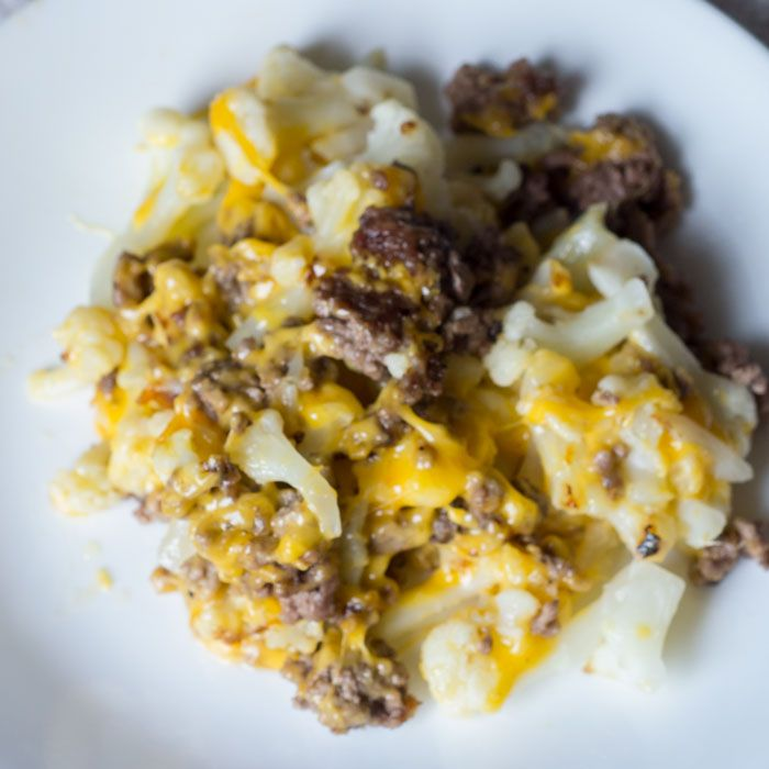 Cauliflower And Ground Beef Hash Low Carb Recipe Glue Sticks And Gumdrops Recipe Ground Beef Beef Hash Low Carb Recipes