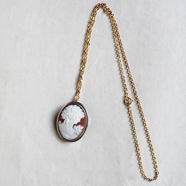 C1950s vintage silver cameo brooch pendant 900 silver c1950s vintage silver cameo brooch pendant 900 silver mozeypictures Choice Image