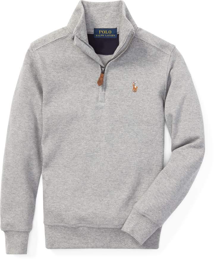 Ralph Lauren Cotton Half Zip Pullover