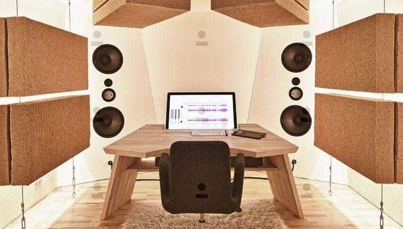 Konzeption, Design und Realisation eines Tonstudios im Kundenauftrag - eine detaillierte Projektbeschreibung findet ihr unter www.mitthof.de.