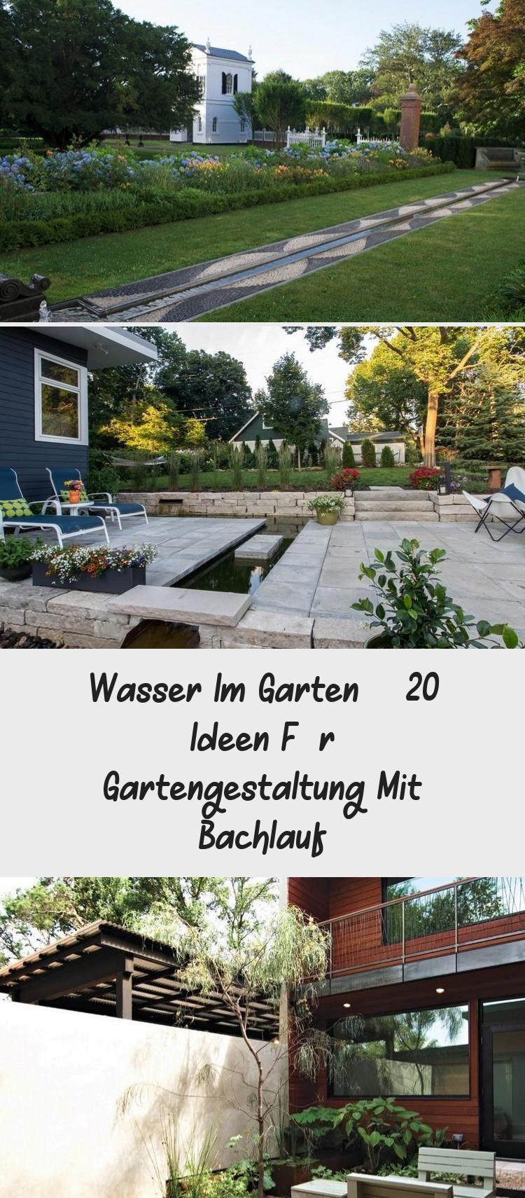 Wasser Im Garten 20 Ideen Fur Gartengestaltung Mit Bachlauf Wasser Im Garten 20 Ideen Fur Gartengestaltung Mit Bachlauf Garte In 2020 Sidewalk Structures