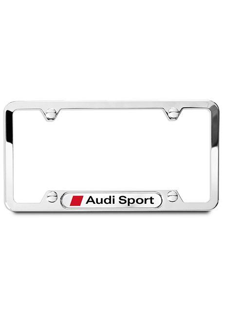 Audi Sport License Plate Frame - Polished | Wishlist | Pinterest ...