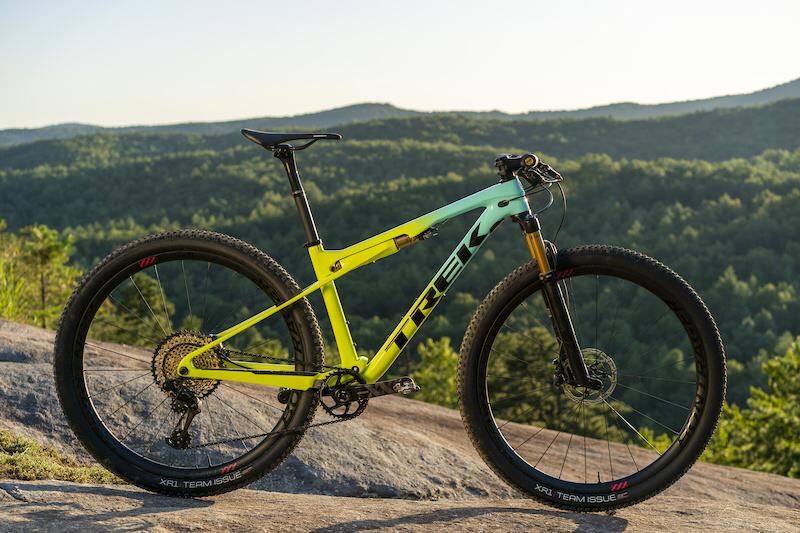 First Ride Trek S New Supercaliber Xc Race Bike Pinkbike Trek Mountain Bike Racing Bikes Mtb Bike Mountain