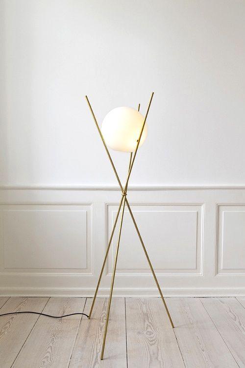 Modern floor lamp