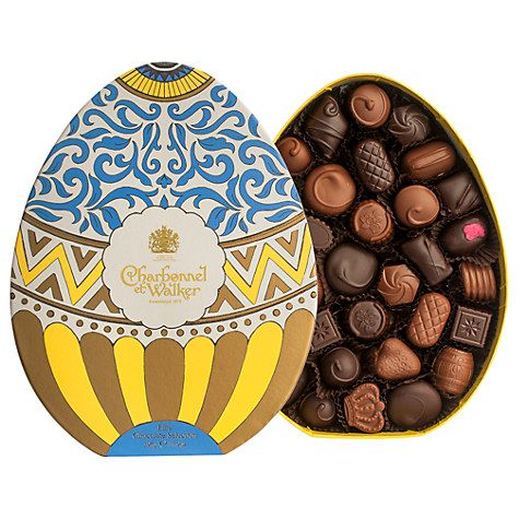 Charbonnel et Walker Easter Egg Chocolate Box. Dark And Milk Chocolate Selection. 395g | Chocolate assortment. Easter chocolate