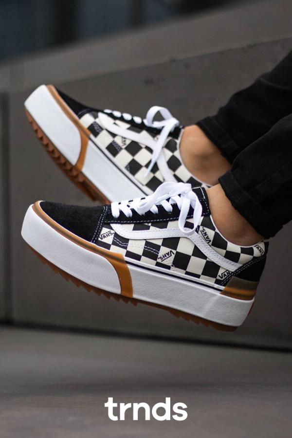 vans stack shoes