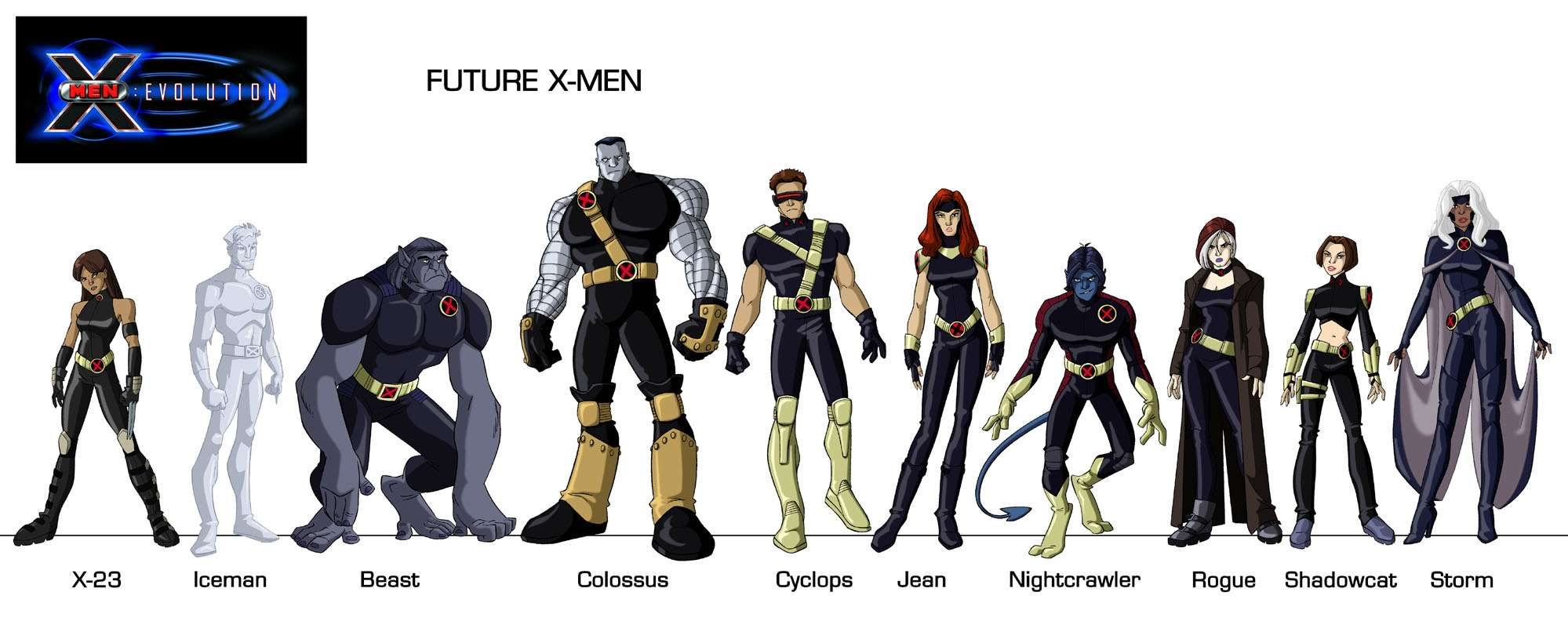 Future X-Men Evolution | Xmen Series | X men evolution, X ...X Men Evolution Villains