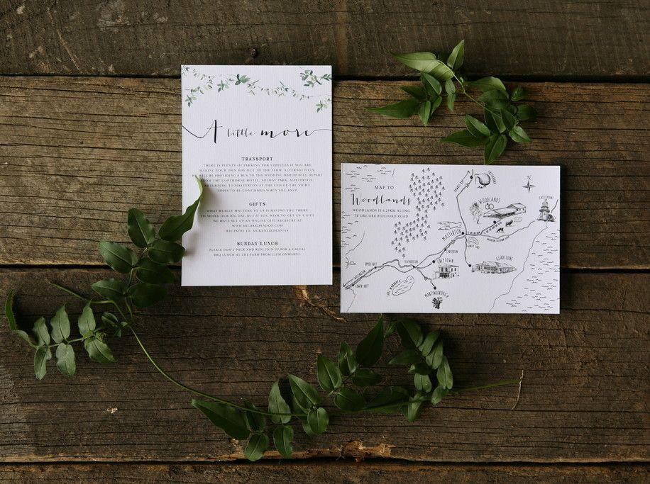 Fox and the Hare - invitation design - Designer wedding ...