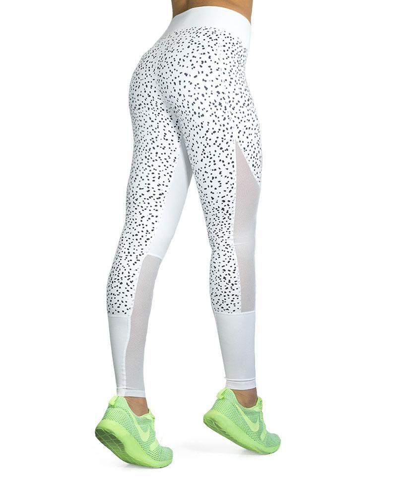 861095bf14 Compression Pants- Premier - Fleck - White #Pants#Compression#Premier