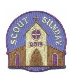 Scout Sunday 2018 Fun Patch | Patches, Girls and Girl scout badges