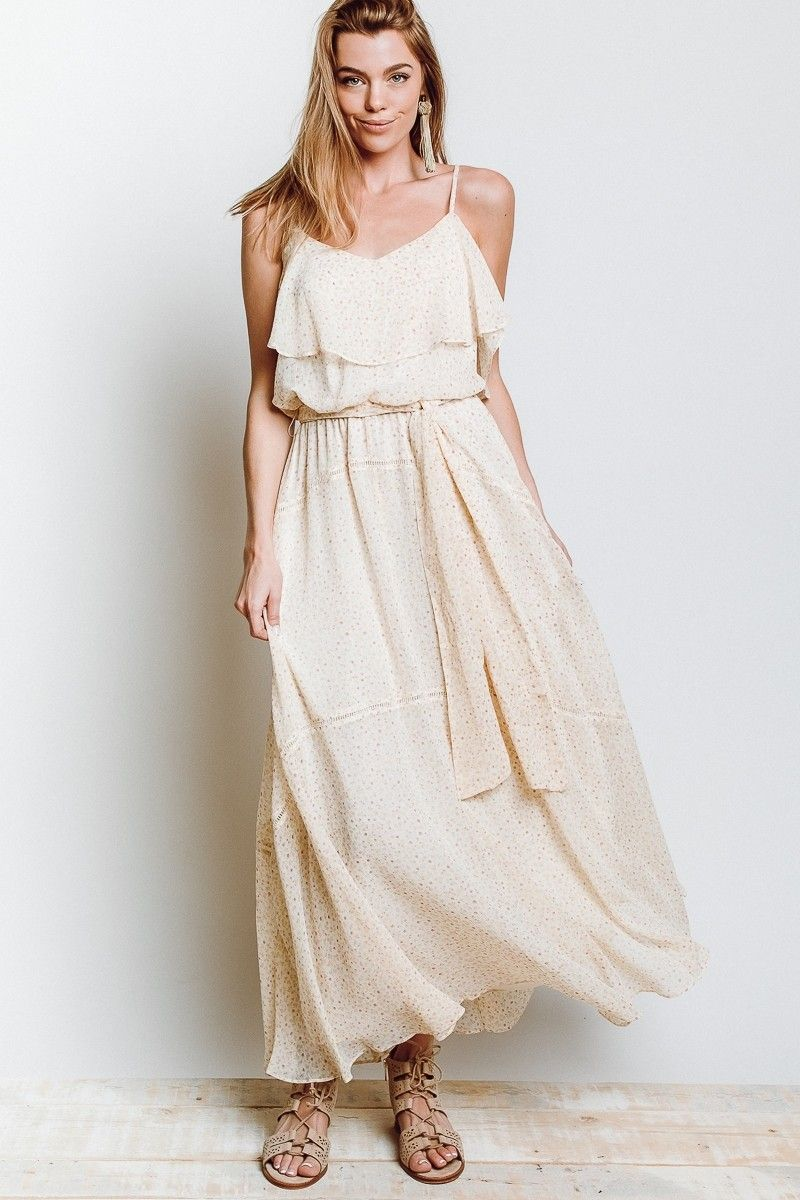 Rebecca Minkoff Decklan Dress in Off White
