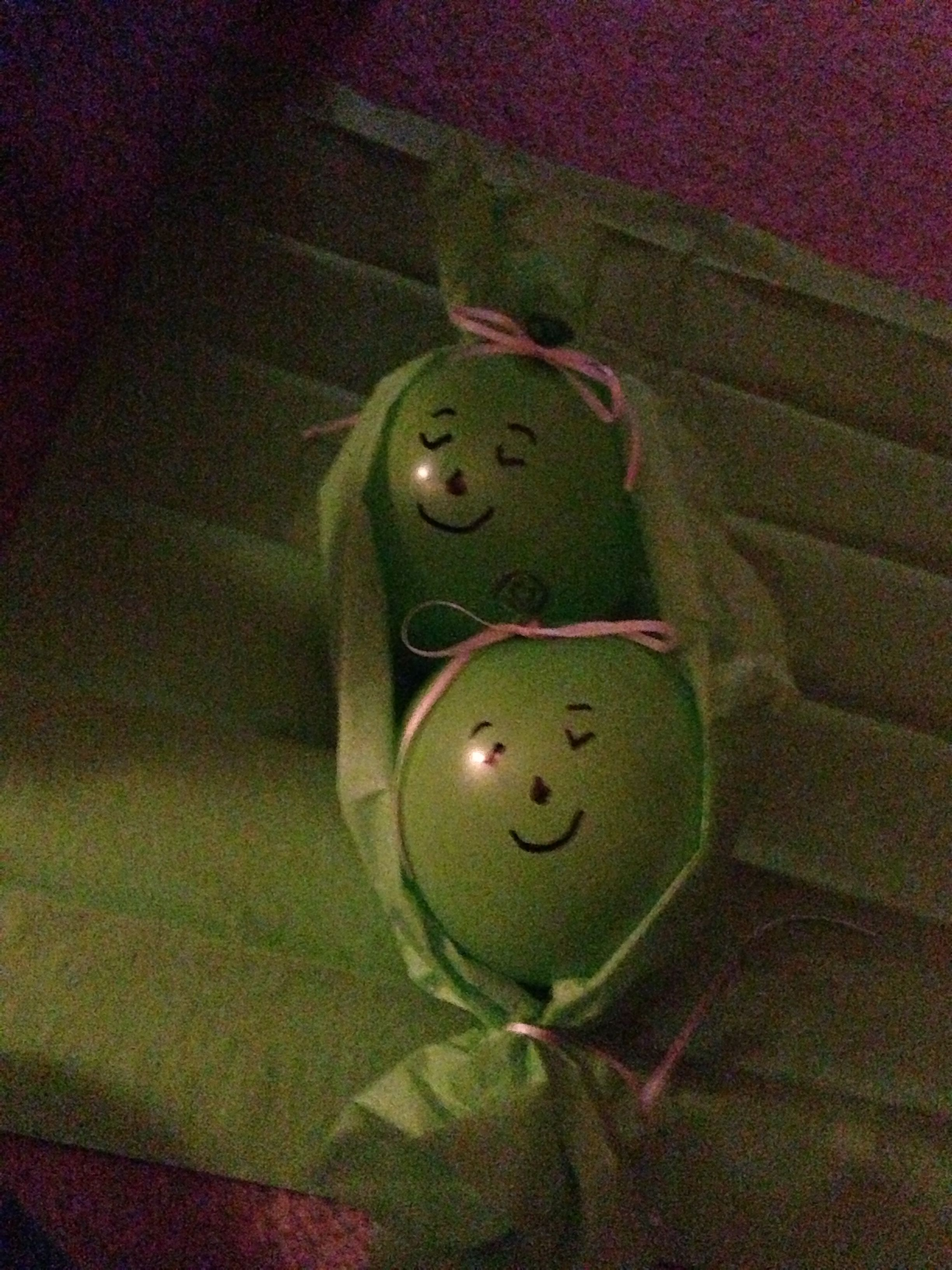 baby cookies peas in decorations shower invitations pod a decor two