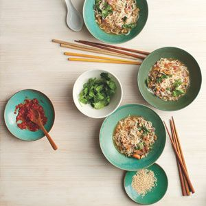 Shirataki Noodles With Cashews And Chiles As Seen On The Nate Berkus Show With Chef Sam Talbot