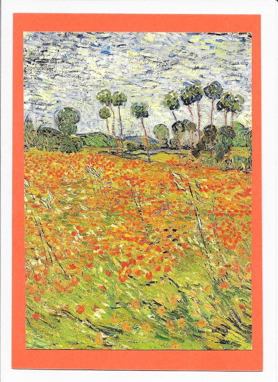 Vincent Van Gogh Field Of Poppies Art In 2018 Pinterest Van