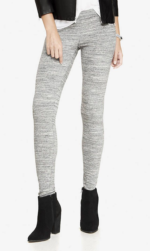 a3d3100f6ae226 Marled Stretch Legging from EXPRESS | My Style | Sweatpants, Fashion ...