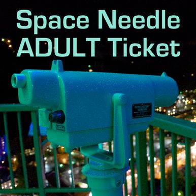 Discount Gatlinburg tickets for adults to ride to the top of the Gatlinburg Space Needle