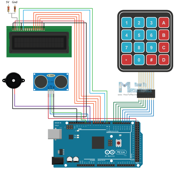 Diy Un Systeme D Alarme A Base D Arduino Simple A Realiser