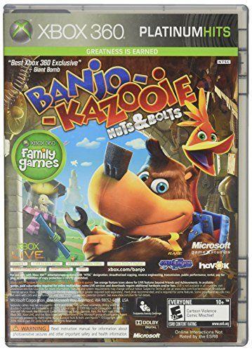 Banjokazooie Nuts Bolts Viva Pinata Platinum Family Hits Be