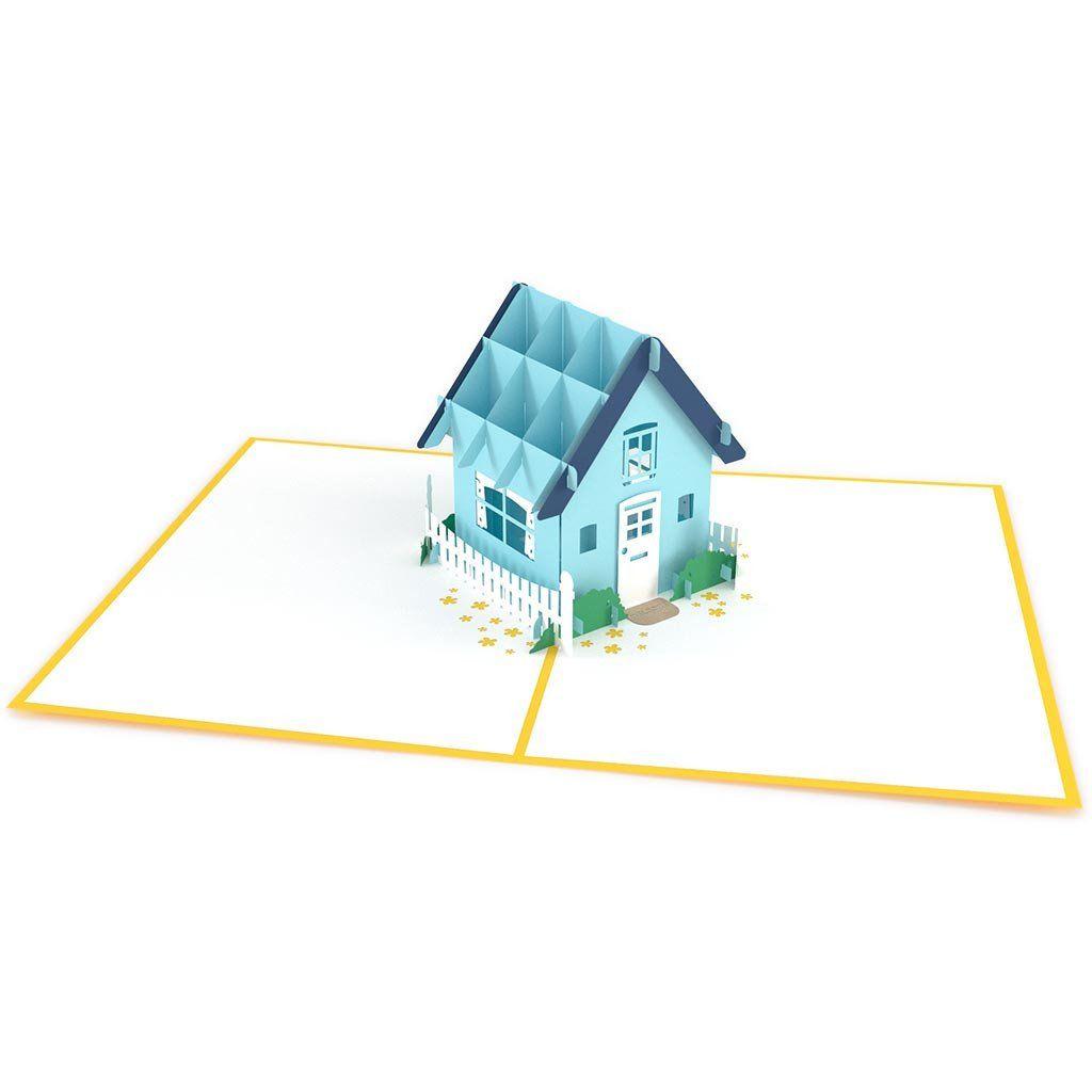 Housewarming Yellow   Housewarming card and Wrapping gifts