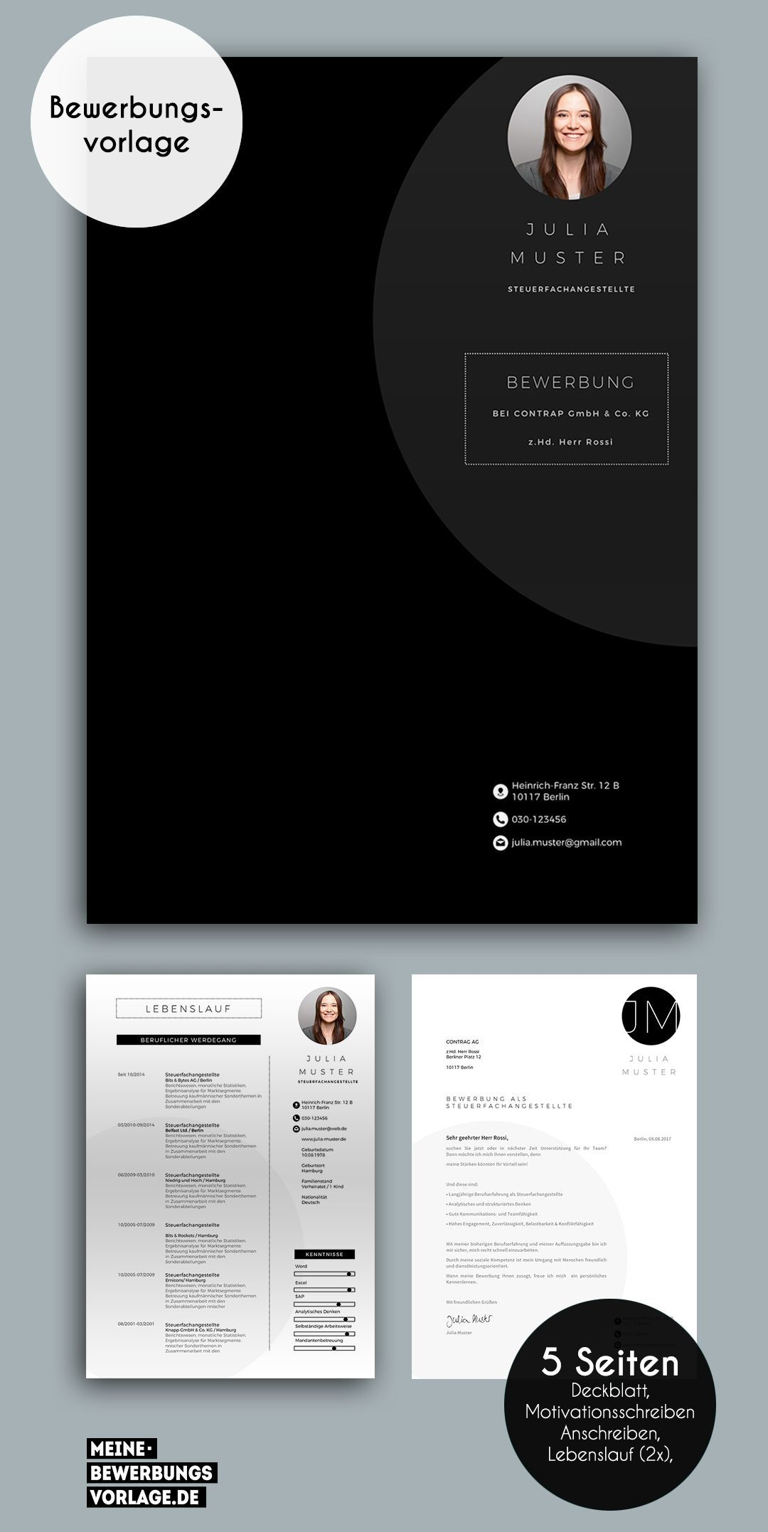26 Lebenslauf Design Microsoft Word In 2020 Resume Design Creative Resume Design Template Infographic Resume
