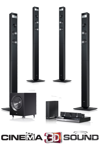 Lg Launches New Home Theater Systems With Advanced Cinema 3d Sound Technology Hardwarezone Com Home Theater Sound System New Home Theatre Home Theater System