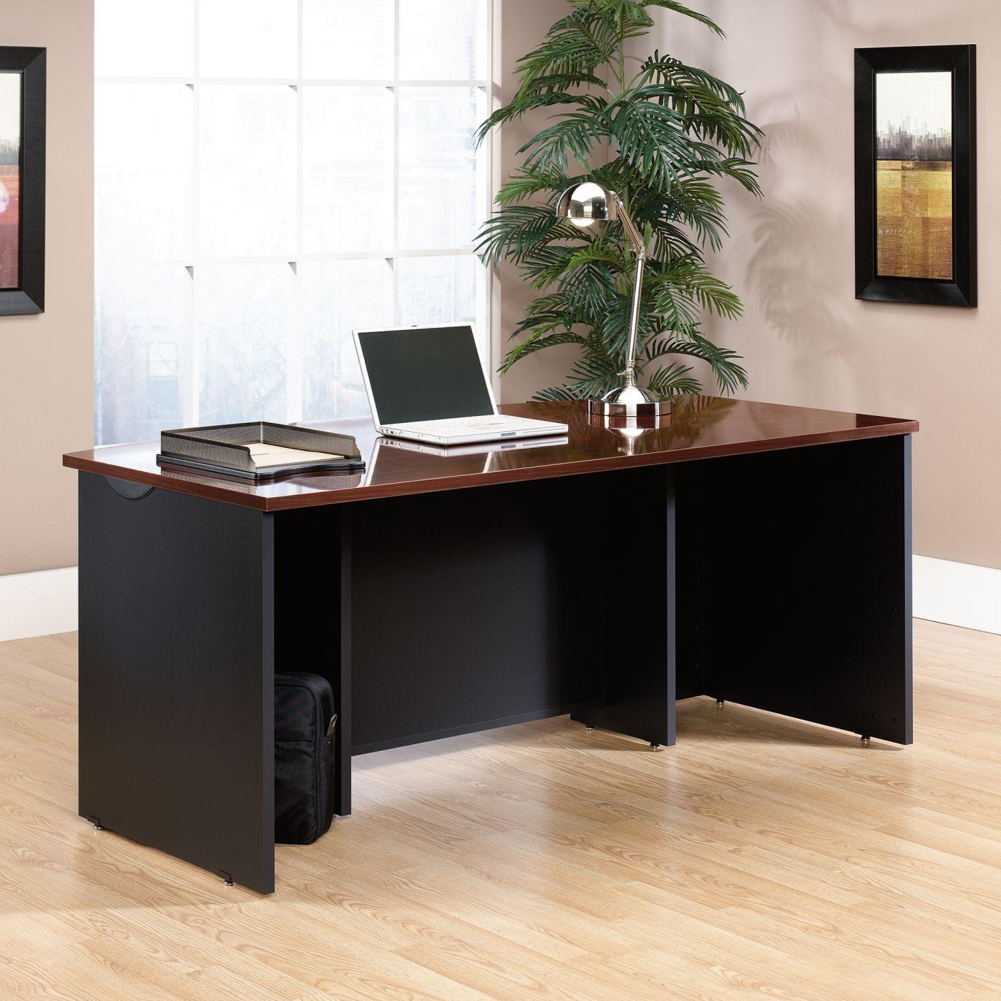 Sauder Via Executive Desk Large Home Office Furniture Check more