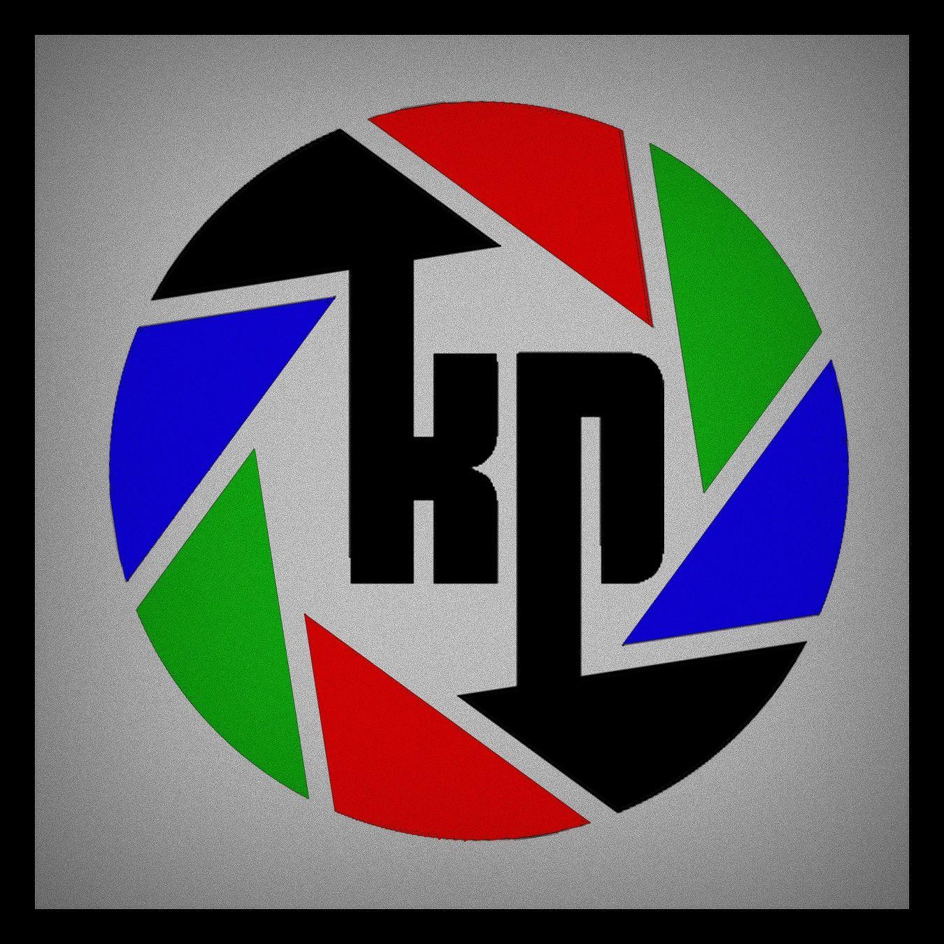 In Circle KP Logo design, Logos, Circle