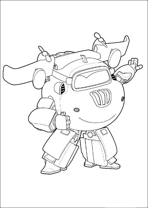 Super Wings Coloring Pages 4 | Printable coloring book | Pinterest ...