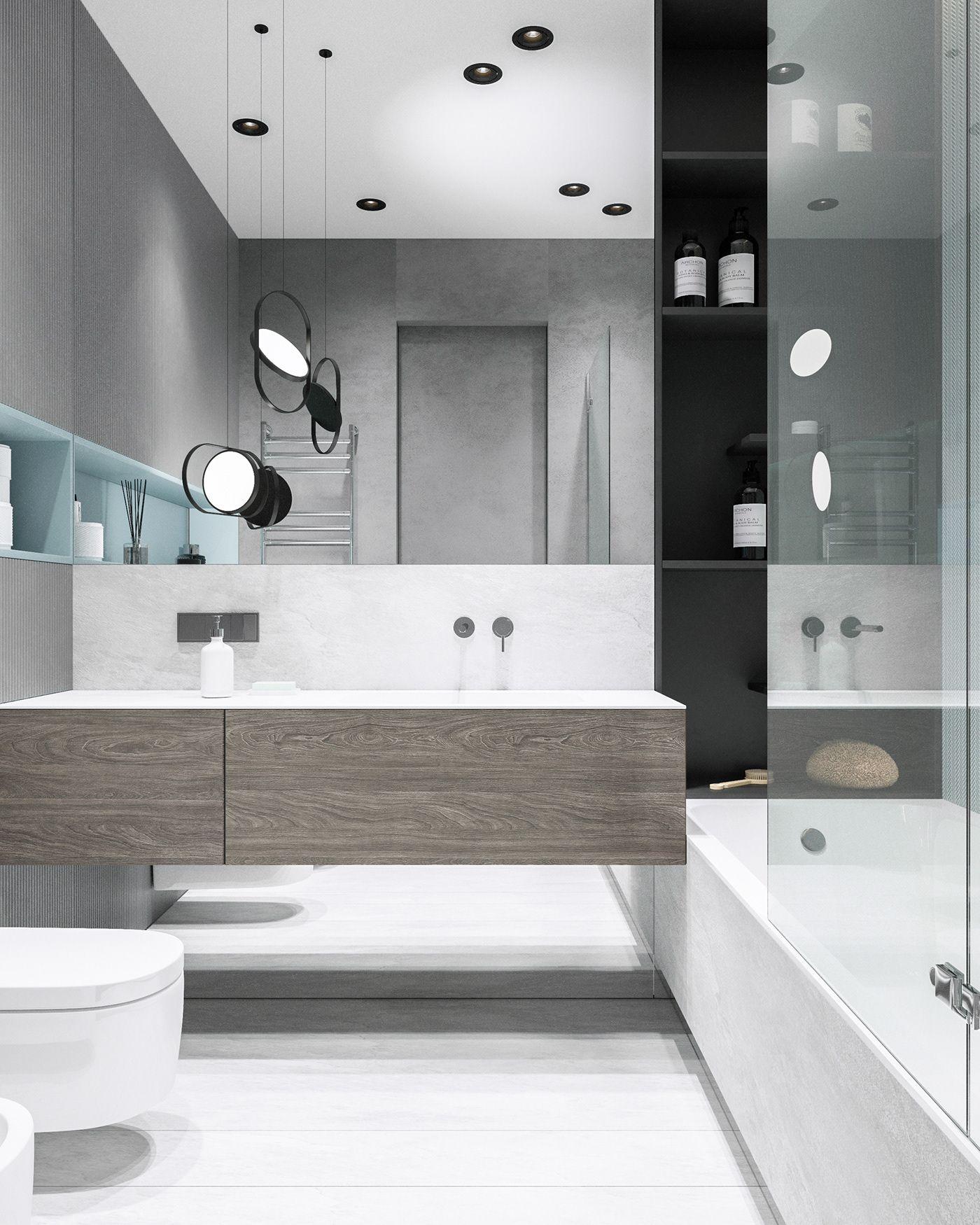 Mops Litca On Behance Bathroom Interior Design Top 10 Bathrooms Bathroom Interior Bathroom interior design modern