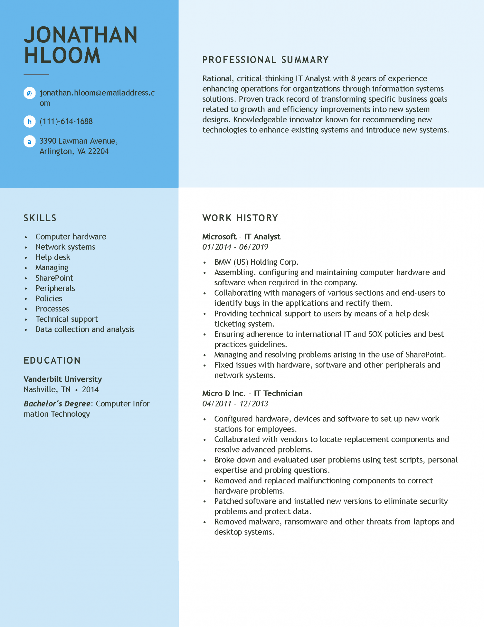 13 Skilled Resume Examples