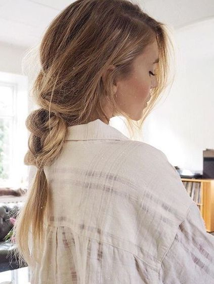Loose Braids Hairstyle Ideas for Spring-Summer 2018 |