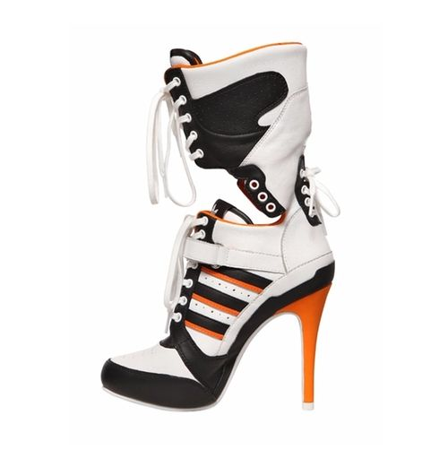 There are 2 tips to buy these shoes: jeremy scott adidas harley quinn adidas  boots high heels boots adidas heels adidas.