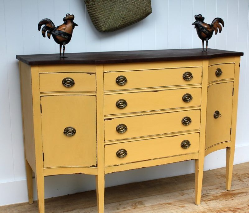 Reasons to Use Chalk Paint - Painted Furniture Ide