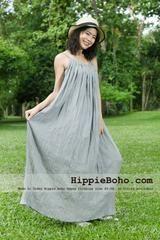 Cotton gauze summer dresses
