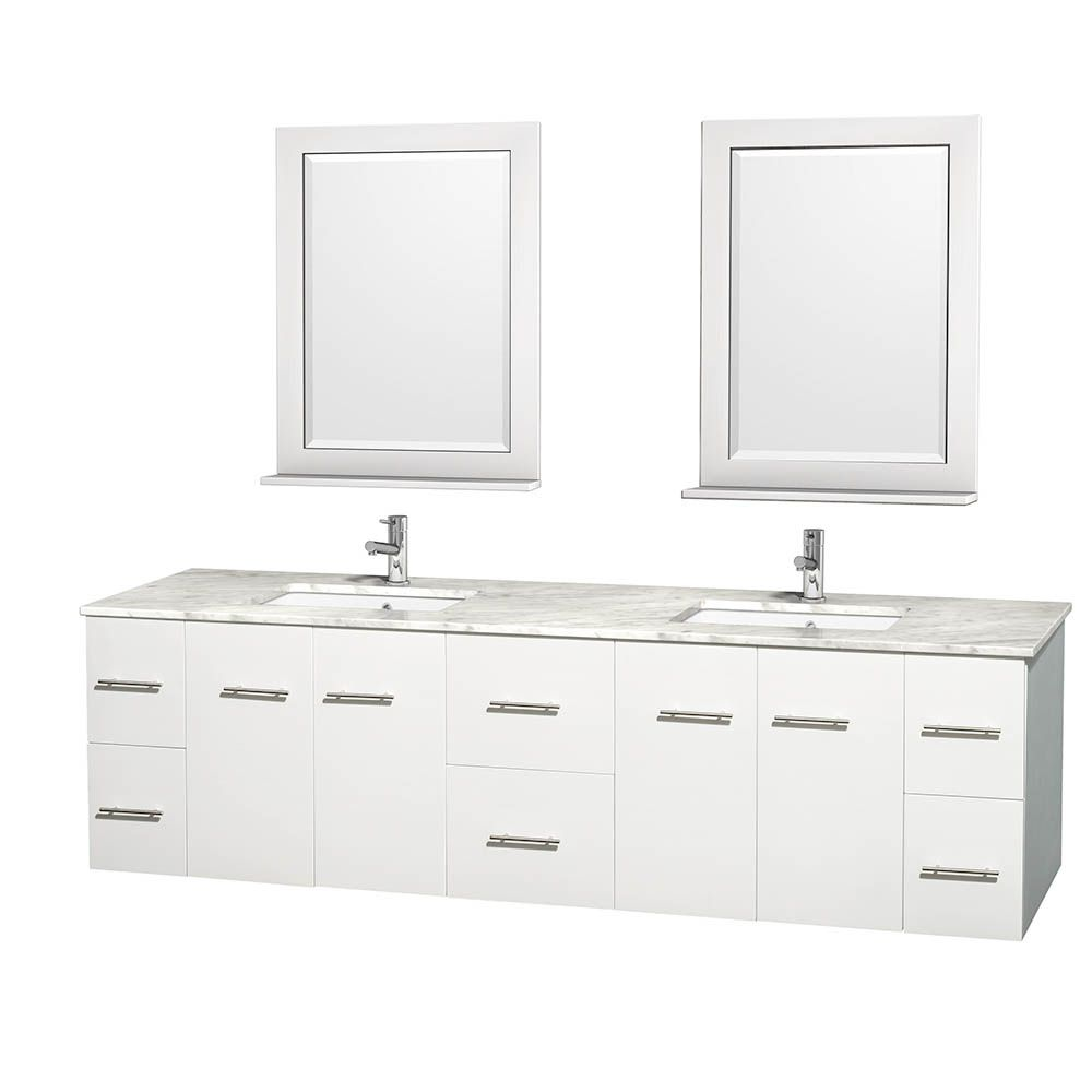 Drawing Of 80 Inch Bathroom Vanity Ideas