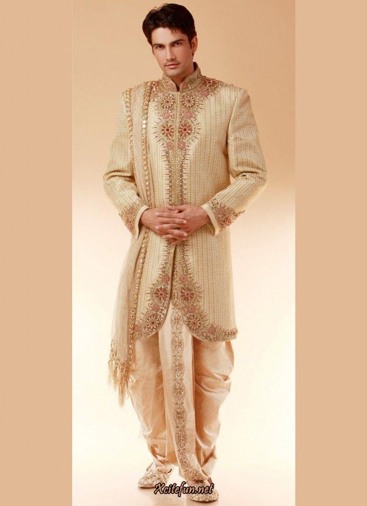 Awesoem Indian Wedding Bridegroom Outfits 2015 3 Bridegroom