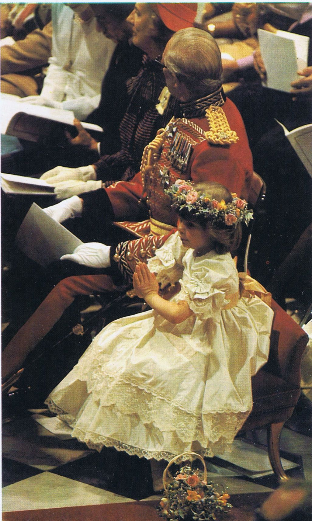 Diana's flower girl at Royal Wedding July 29, 1981