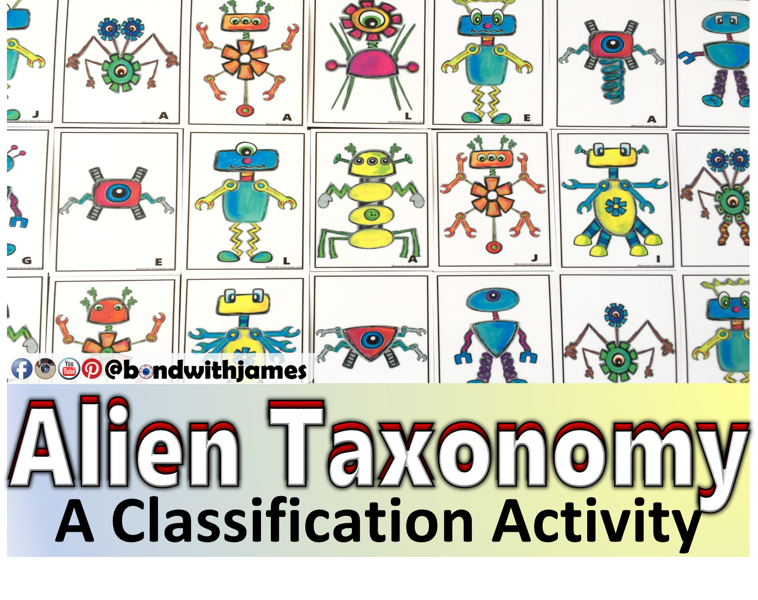 worksheet Dichotomous Key Worksheet Aliens alien taxonomy a classification card sort activity activities activity