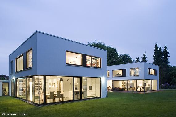 Ehrfrchtig Zwei Huser Eine Architektur Sprache Essen Cube Magazin  Betreffend Architektur Huser Modernen With Moderne Architektur Huser.