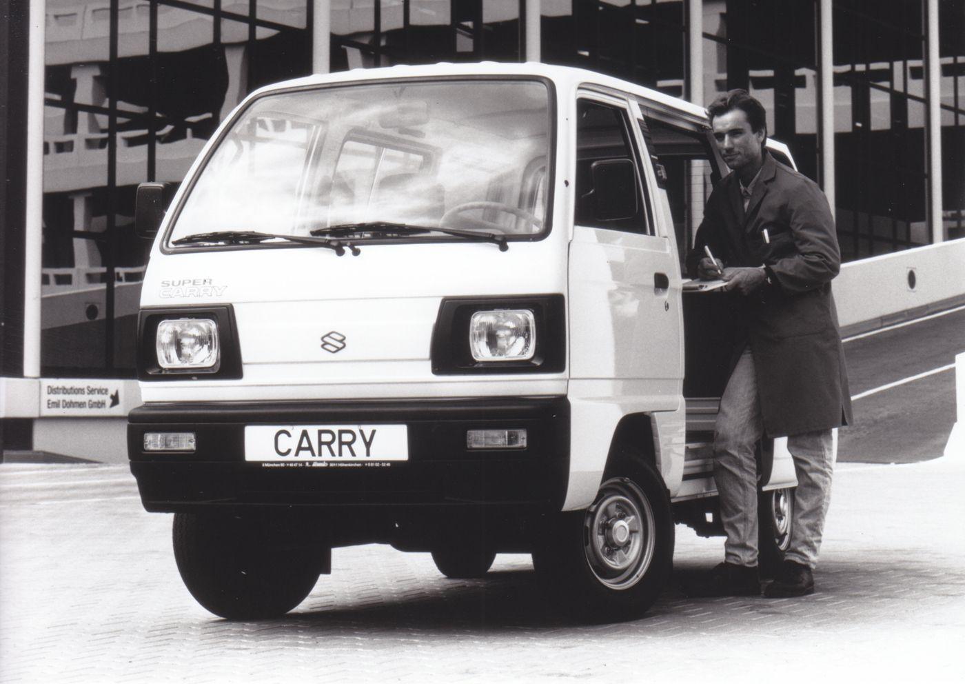 Suzuki Super Carry Kombi Sept 95 Suzuki Van Press Photo