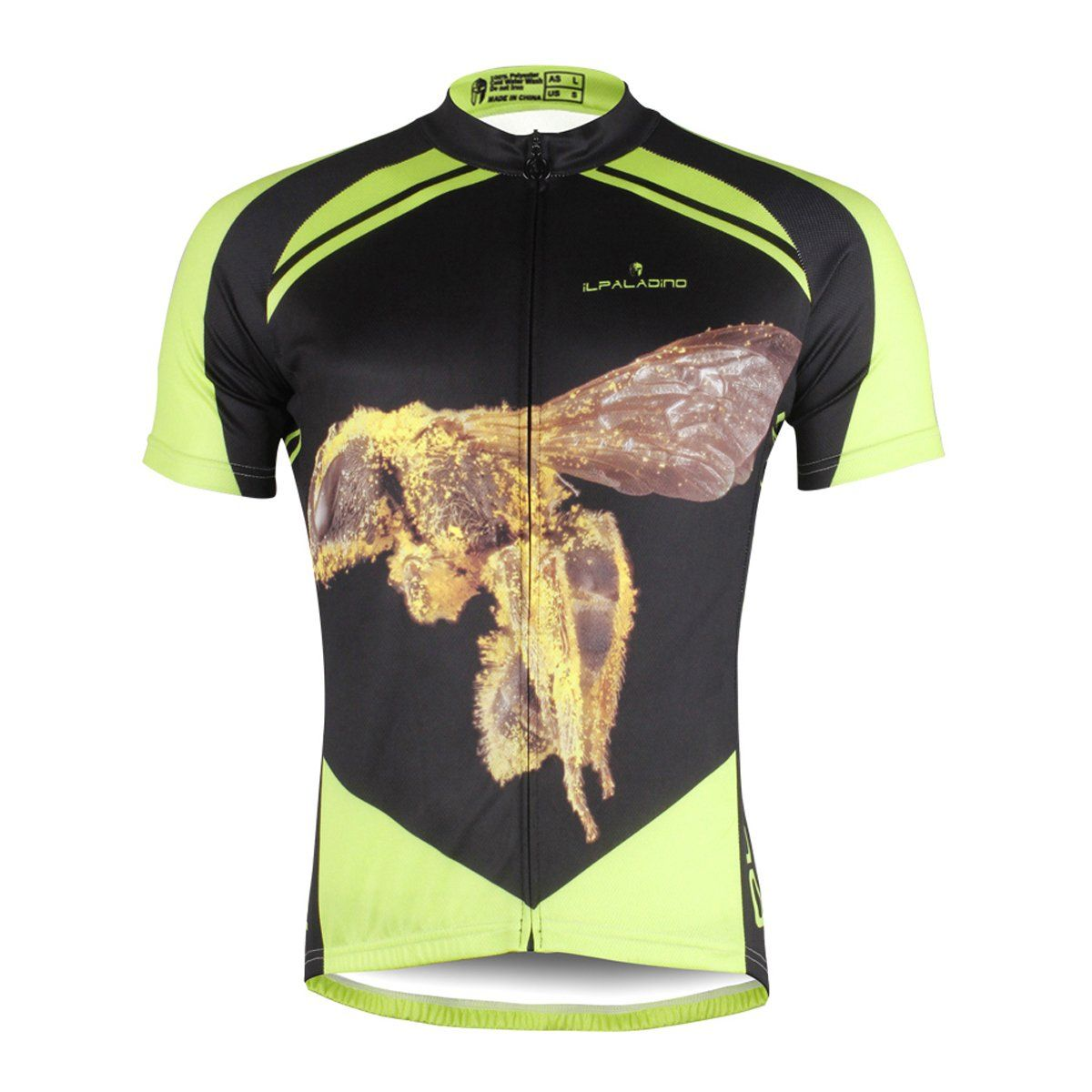 ILPALADINO Men s Summer Cycling Jersey Rock Big Hornet Road Bike Shirt  Breathable and Quick Dry Mountain Biking Clothes 3b9e5066d