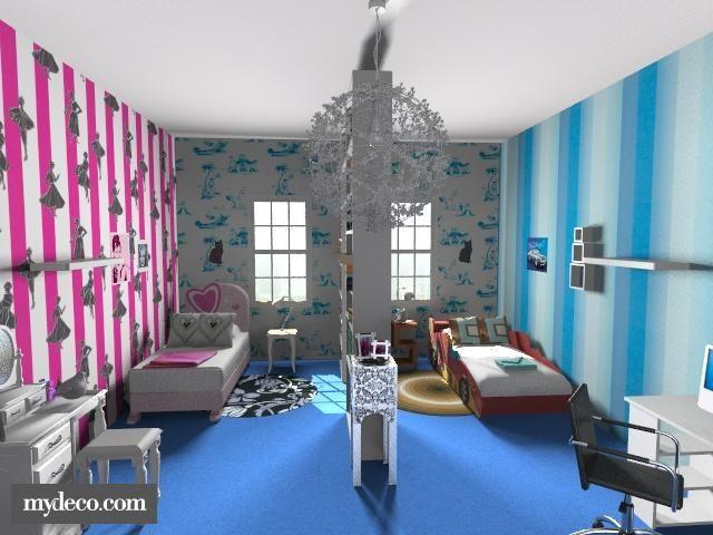 boy girl shared room