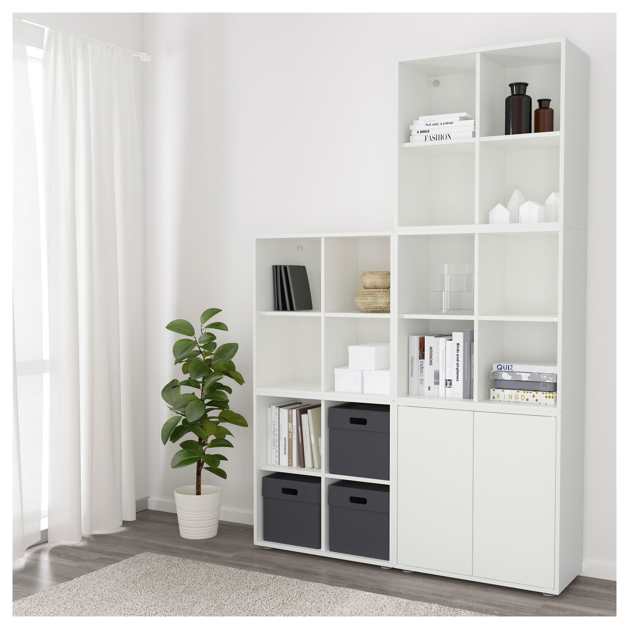 Eket Schrankkombination Fusse Weiss Products In 2019 Ikea Ikea