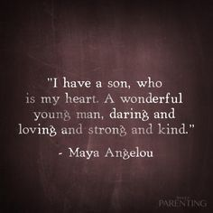 Inspirational Quote Seuns Son Quotes Quotes Mom Quotes